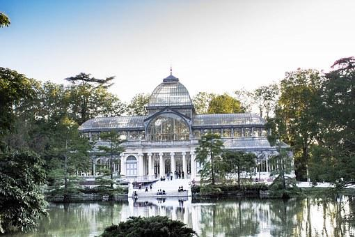 Crystal Palace, Removal, Parque Del Retiro, Pond