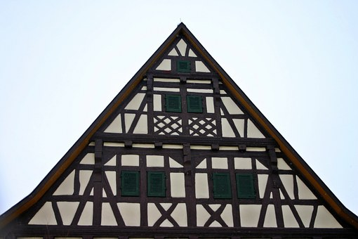 Truss, Home, Fachwerkhaus, Building, Decor, Old
