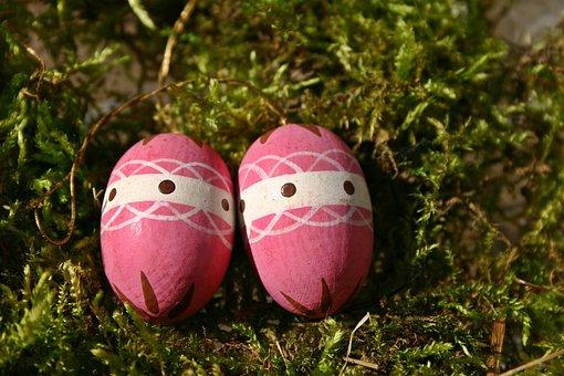 Easter Egg, Pink, Easter Nest, Easter Decorations