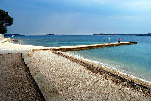 Beach, Fazana, Sea, Water, Turquoise, Istria, Riviera