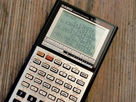 Calculator, Graphing Calculator, Casio Fx-7000 G