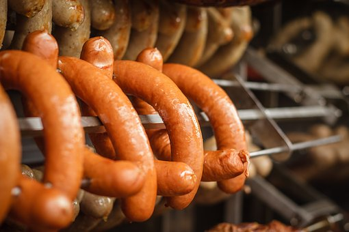 Sausage, Grill, Barbecue, Grill Sausage, Bratwurst, Eat