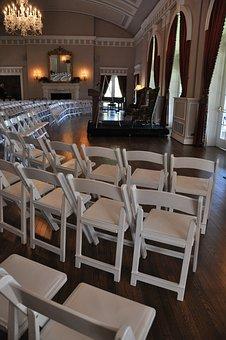 Chairs, Hall, Saloon, Speech, Talk, Speaker