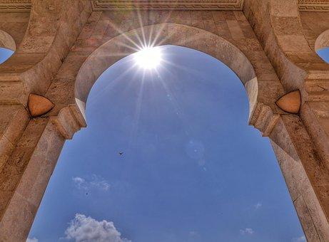 Morocco, Casablanca, Mosque Hassan, Hassan, Islam