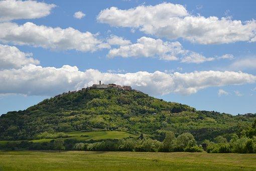 Motovun, Istria, Croatia, Europe, Old, Village, History