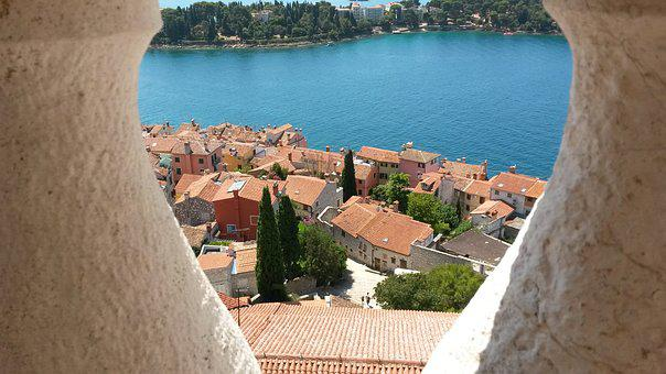 Rovinj, Croatia, Bell Tower, Istria, Sea, Holiday