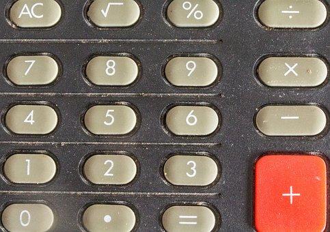 Calculator, Keys, Input, Count, Work, Pay, Input Keys