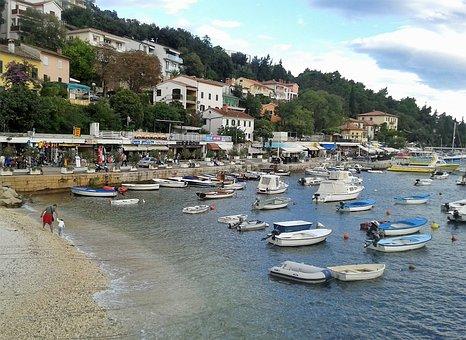 Rabac, Holiday, Croatia, Istria, Shop, Port City