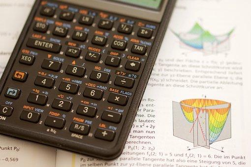 Calculator, Mathematics, School, Apprenticeship, Study