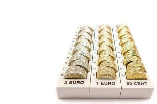Money, Euro, Change, Currency, Europe, Finance, Coins
