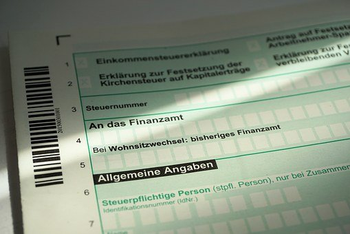 Tax Return, Control, Tax Office, Form, Finance, Money