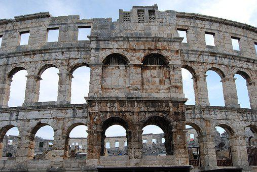 The Coliseum, Pula, Pula Arena, Croatia, Monuments