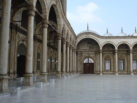 Citadel, Cairo, Egypt, Mosque, Religion, Islamic, Ali