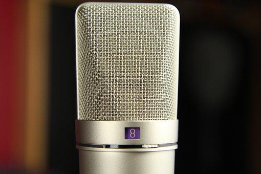 Microphone, Vintage, Mic, Music, Audio, Retro, Sound
