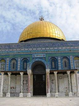 Dome Of The Rock, Muslim, Islam, Mosque, Holy Land