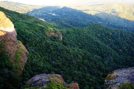 El Salvador, Door Of The Devil, Nature, Hill, Mountain