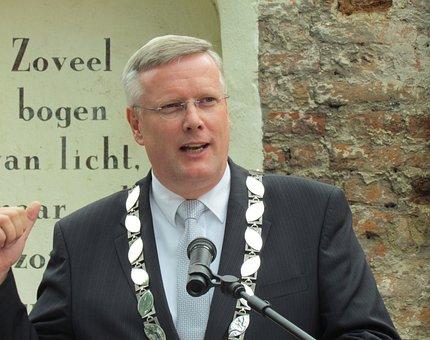 Andries Heidema, Mayor, Netherlands, Deventer, Speech