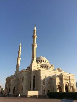 Sharjah, Nour, Mosque, Islam, Muslim, Uae, Khalid