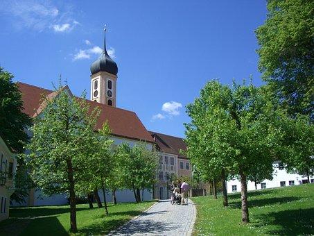 Monastery Church, Oberschönenfeld, Cistercian Abbey