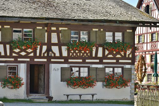 Farm, Swabia, Museum, Historically, Old, Craft