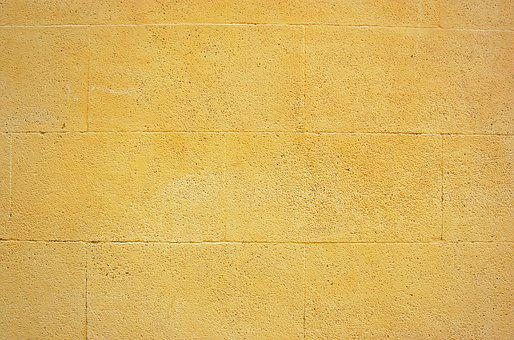 Wall, Yellow, Aix, Provence, Old, Architecture