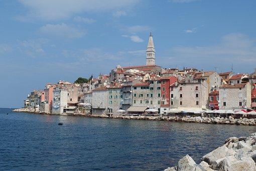 Rovinj, Croatia, Istria, Old Town