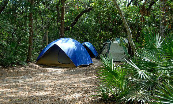 Tent Camping, Recreation, Fun, Outdoors, Tent, Camp