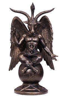Baphomet, Devil, Satan, Pentacle