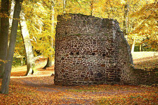 Ruin, Masonry, Stone Wall, Feilenmoos, Rasenerz
