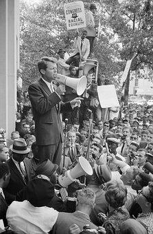 Speech, Make Speech, Robert Kennedy, Racial Equality