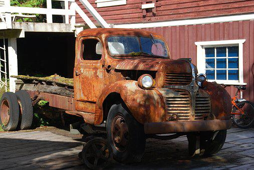 Dogde, Rusted, Old, Rust, Metal, Oldtimer, Usa, Vehicle