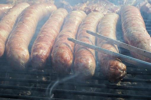 Grill, Sausage, Grilling, Grill Sausage, Barbecue