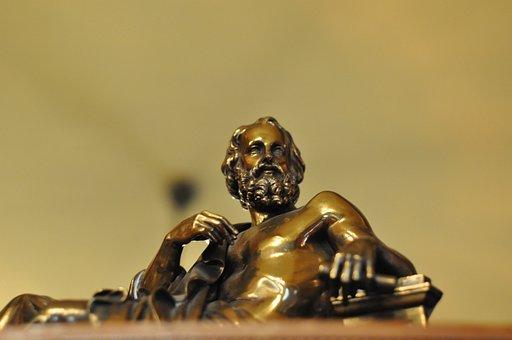 Bronze, Plato, Scholar
