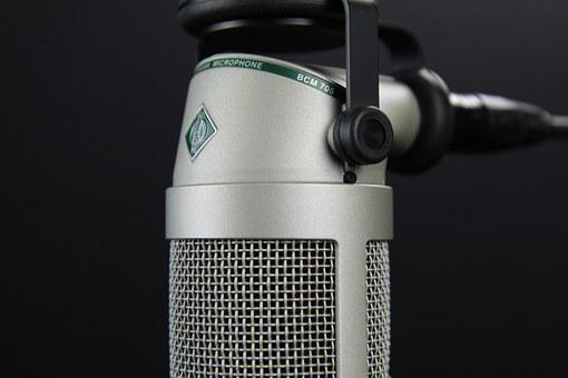 Microphone, Broadcast, Radio, Audio, Mic, Speech