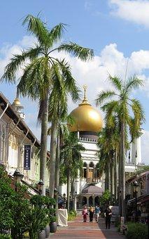 Singapore, Sultan Mosque, Muslim