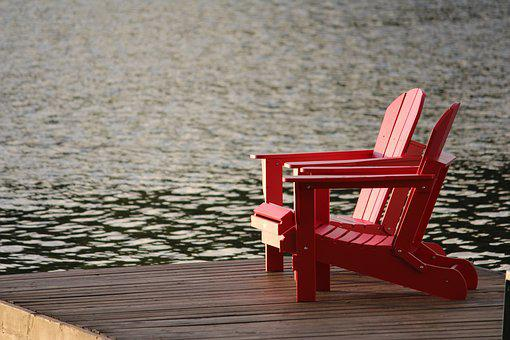 Cottage, Lake, Water, Nature, Summer, Tranquil, Outdoor