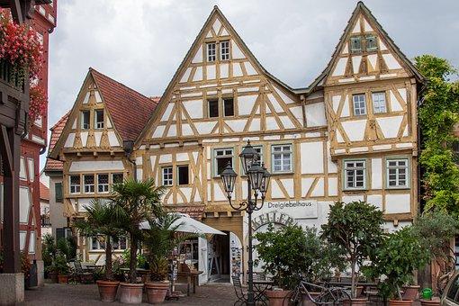 Besigheim, Wine Village, Gable, Swabia, Old Town