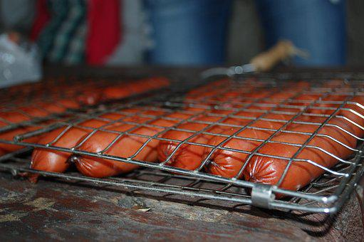Sausages, Bake, Food, Meat, Cooked, Traditional, Tomato
