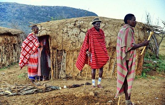 Kenya, Masai Mara, Maasai Warrior, Tribe, Africa