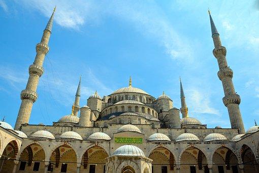 Mosque, Istanbul, Turkey, Hagia Sofia, Ottoman, Turkish