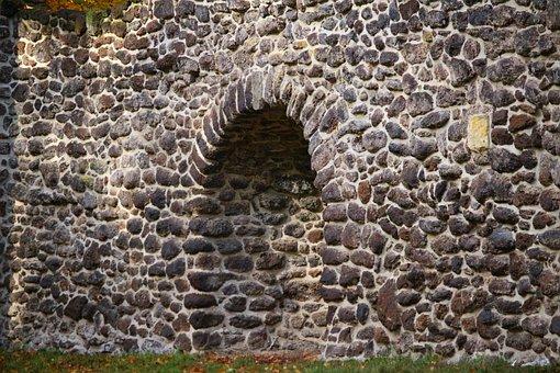 Stone Wall, Grotto, Wall, Feilenmoos, Clumping Stone