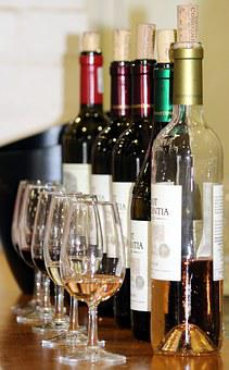 Wine Tasting, Glasses, Wine Bottles, New Wine, Wine
