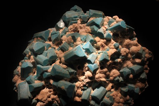 Amazonite, Microline, Mineral, Rock, Stone, Crystals