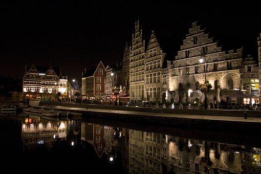 Belgium, Ghent, Europe, Architecture, Travel, City