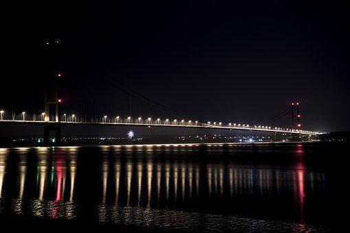Humber Bridge, Bridge, Humber, River, Architecture
