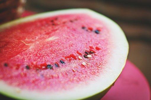 Watermelon, Melon, Colorful, Cool, Cut, Delicious, Diet