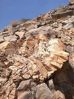 Rock, Desert, Granite, Stone, Nature, Canyon, Scenic