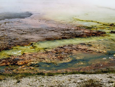 Yellowstone National Park, Wyoming, Usa, Minerals