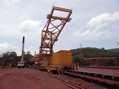 Mining, Iron Ore, Mine, Transport, Machinery, Iron
