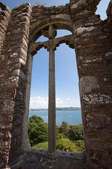 Window, Masonry, Outlook, By Looking, View, Folly